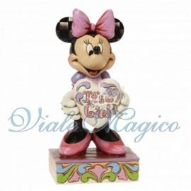 Statuina Disney Minnie per Nascita