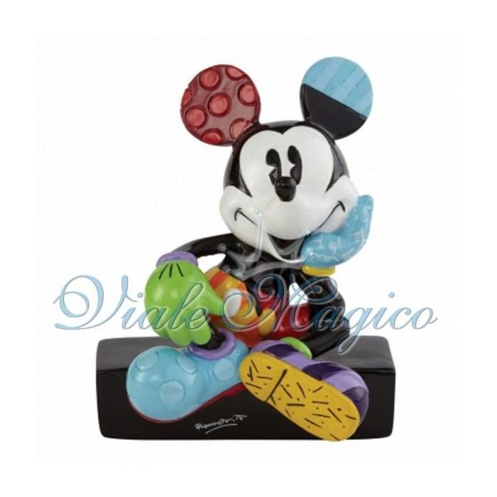 Statuina Disney Topolino Seduto