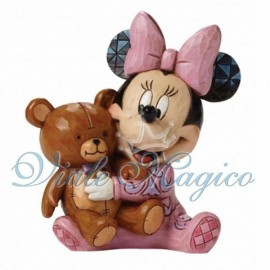 Statuina Disney Minnie Baby per Nascita