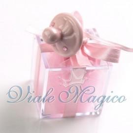 Plexiglass Rosa con Appendino Ciuccio Nascita