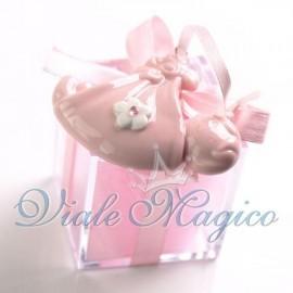 Plexiglass Rosa con Appendino Fagotto Nascita