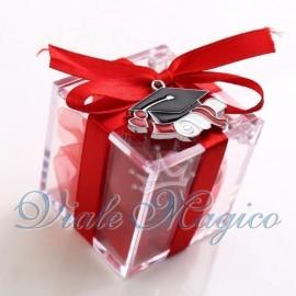 Plexiglass Rosso con Cappello Tocco