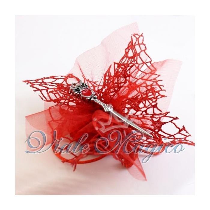 Bomboniere Laurea Portafortuna Gadget Sacchetto con Tagliacarte Confetti
