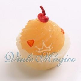 Candela Colorata Cupcake Cuoricini