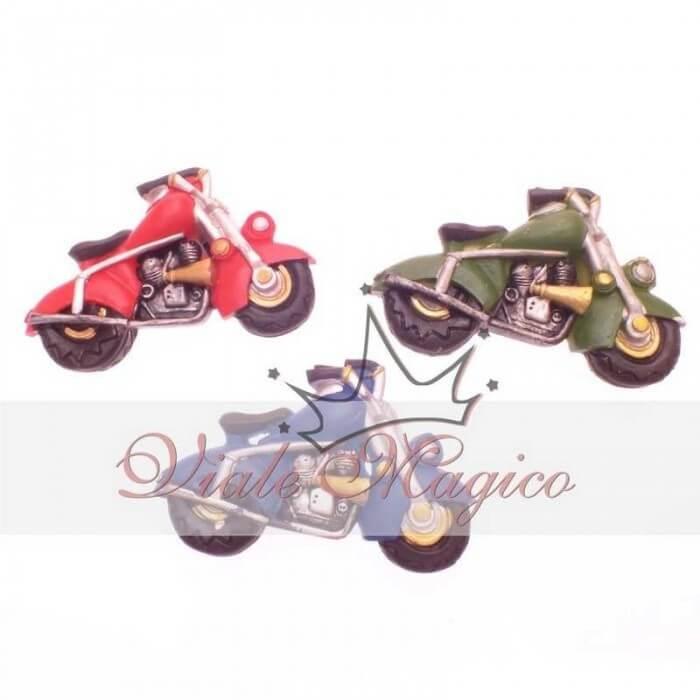 Bomboniere Compleanno Segnaposto Faidate Magnete Motocicletta Colorata