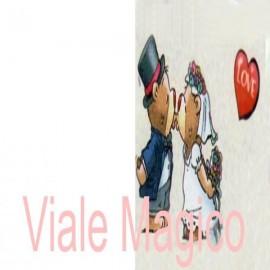 Bomboniere Faidate COL13101 - 20 Bigliettini con Frase per Matrimonio e Promessa