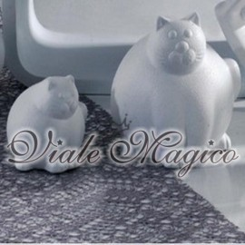Gatti Grassi in Ceramica