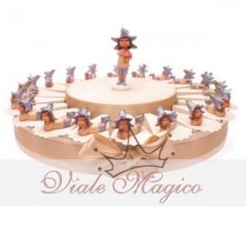 Torta Statuina Folletti del Bosco + Confetti