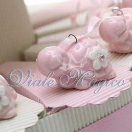 Torta Portaconfetti con Appendino Tartaruga Rosa