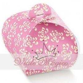 Bomboniere Fai Da Te Astuccio Fiore Porta Confetti Rosa Confettate