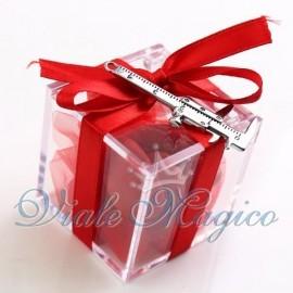 Plexiglass Rosso con Calibro