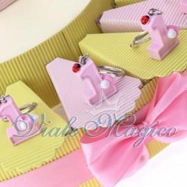 Torta Portaconfetti Portachiave Primo Compleanno Bimba