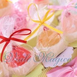 Torta Portaconfetti con Candele Cupcake Colorate Bimba