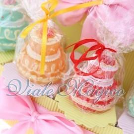 Torta Portaconfetti con Candele Compleanno Bimba
