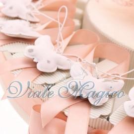 Torta Portaconfetti con Farfalla Campanella