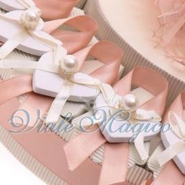 Torta Portaconfetti con Cuore Perla