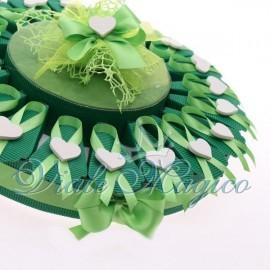Torta Portaconfetti con Cuore Legno