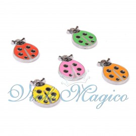 Coccinelle Mini Colorate per Compleanno