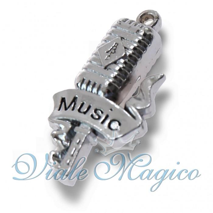 Bomboniera Microfono Vintage per Compleanno Conservatorio Musica