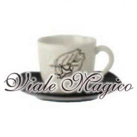 Servizio da Caffè Black & White in Gres Pocellanato