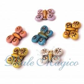 Bomboniera Segnaposto FaiDaTe Magnete Farfalle Colorate