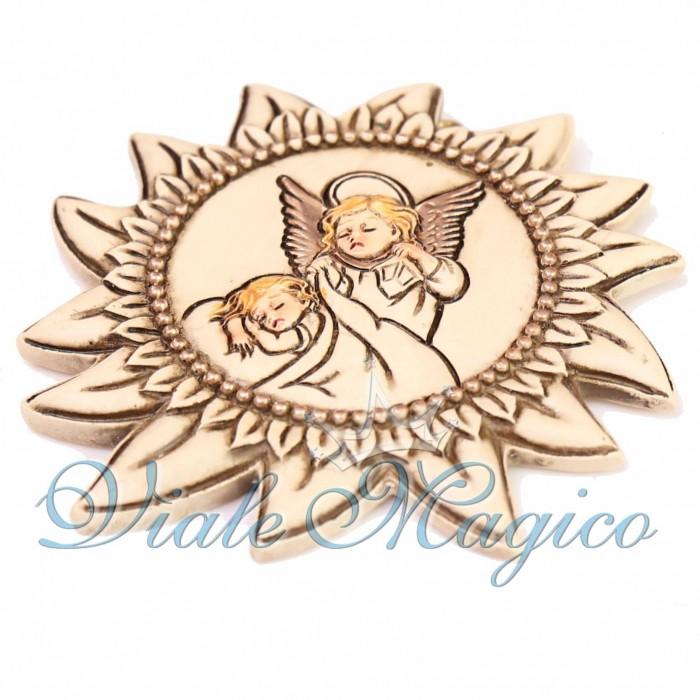 Bomboniere Battesimo Prima Comunione Sole Angioletti Offerte Faidate Segnaposto