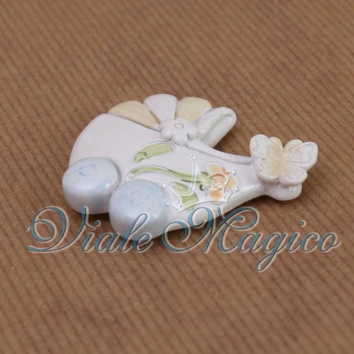Bomboniere Nascita Battesimo Primo Compleanno Magnete Carrozzina Baby Faidate