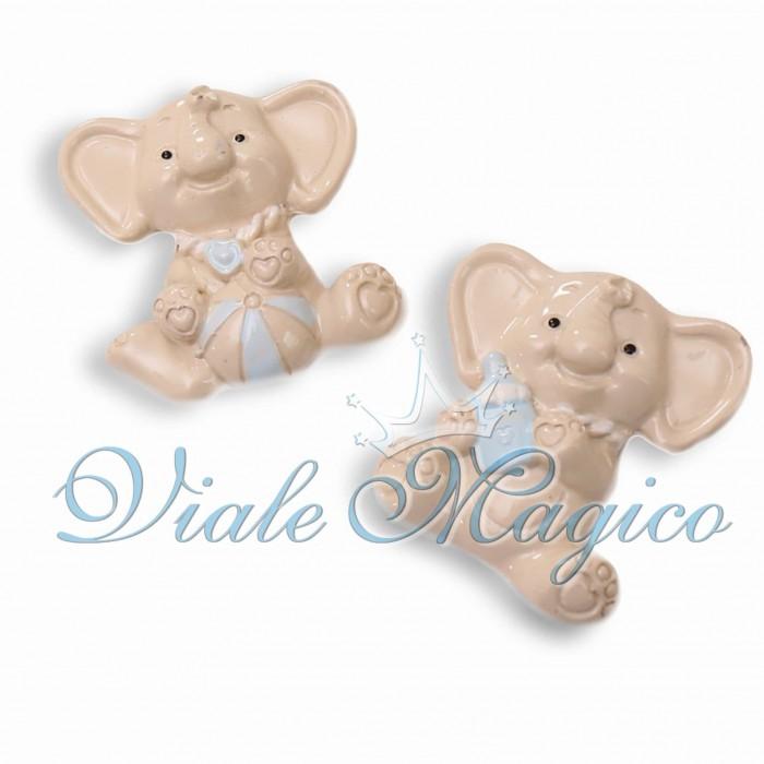 Bomboniere Nascita Battesimo Primo Compleanno Faidate Magnete Elefante Baby