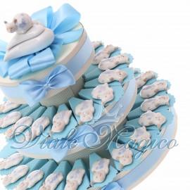 Torta con Magnete Coccinella Bimbo in Porcellana