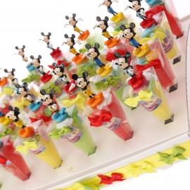 Bomboniere Nascita Primo Compleanno Vassoio Coni Disney Mickey Mouse Topolino
