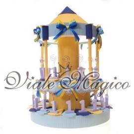 Torta 35 Memoclip Numero 1 Celeste