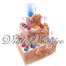 Torta 32 Memoclip Macchinina