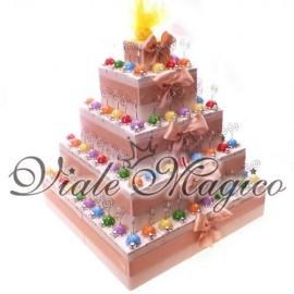 Torta 95 Memoclip Coccinelle Colorate