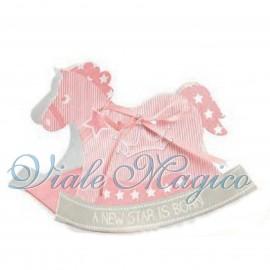 Cavallo a Dondolo Bimba Star