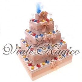 Torta 95 Memoclip Macchinine Cabrio Colorate