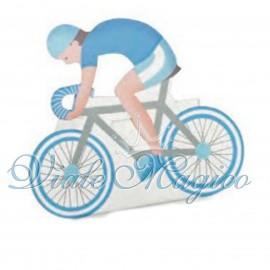 Bomboniere Scatoline Portaconfetti Faidate Ciclista Bicicletta Compleanno