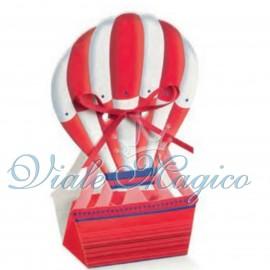 Bomboniere Porta Confetti Confettate Mongolfiere Colorate Compleanno
