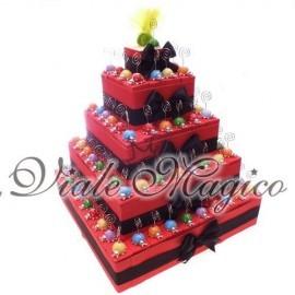 Torta 95 Coccinelle Memoclip MixColor