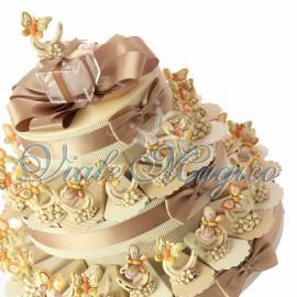 Torta Confetti Farfalla su Ferro di Cavallo
