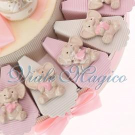 Torta Portaconfetti con Magnete Elefante Bimba Sweet