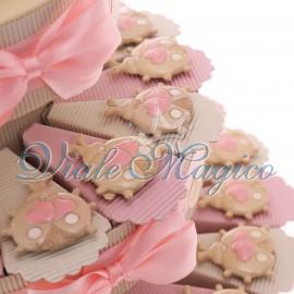 Torta Portaconfetti con Magnete Coccinella Bimba Sweet