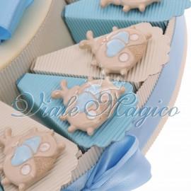 Torta Portaconfetti con Magnete Coccinella Bimbo Sweet