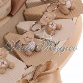 Torta Portaconfetti con Portachiave Elefante Sweet