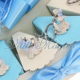 Torta Portaconfetti con Portachiave Farfalla su Ferro di Cavallo