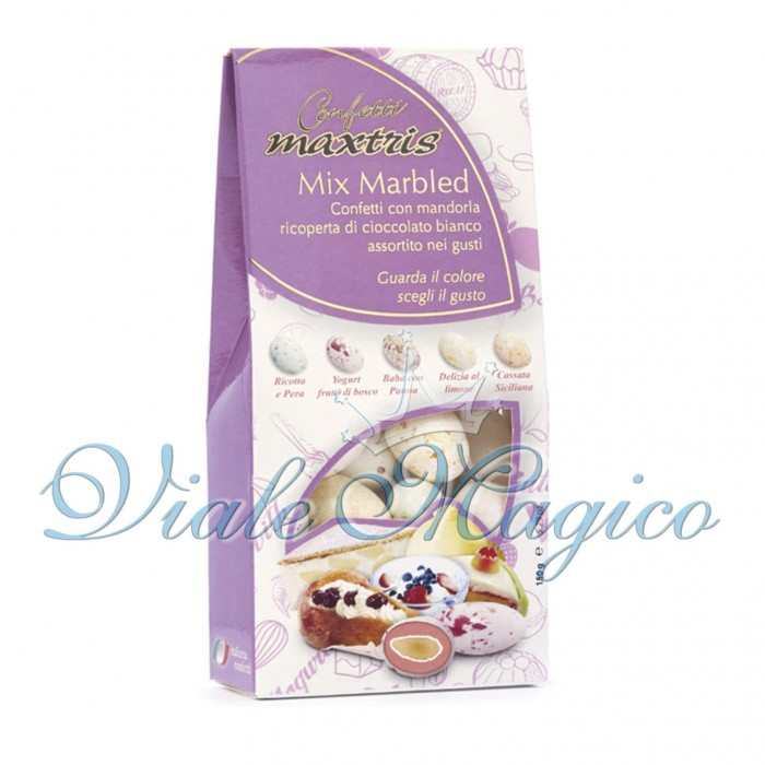 Bomboniere Faidate Bouffet Confettata Sacchetto Confetti Mix Marbled da 150g