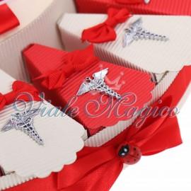 Torta Bomboniere Mini Caduceo Laurea in Farmacia
