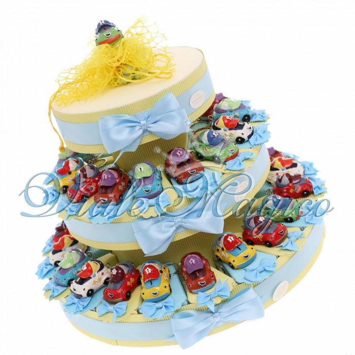 Amato Offerta Bomboniere per Compleanno portachiavi Macchinine UA37