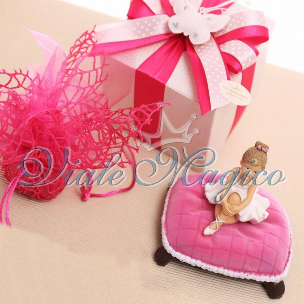 Super Ingrosso Bomboniere Online Prima Comunione Statuina Ballerina Bimba YM52
