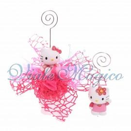 Bomboniera Sacchetto Portafoto Hello Kitty Primo Compleanno