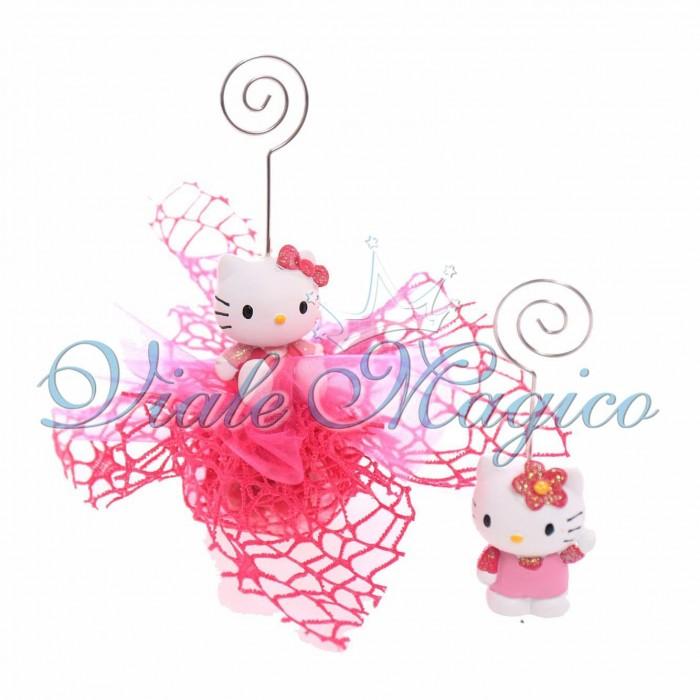 Bomboniera Sacchetto Portafoto Hello Kitty Primo Compleanno Bambina